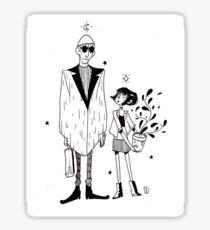 Leon and Matilda Sticker