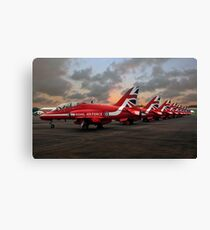 The Reds Canvas Print