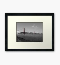 Shades of Golden Gate Bridge Framed Print