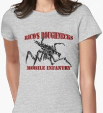 Starship Troopers - Rico's Roughnecks Womens Fitted T-Shirt