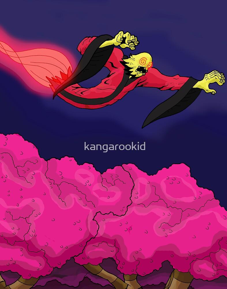 phantom over trees by kangarookid
