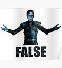 Dwight walker Schrute Poster