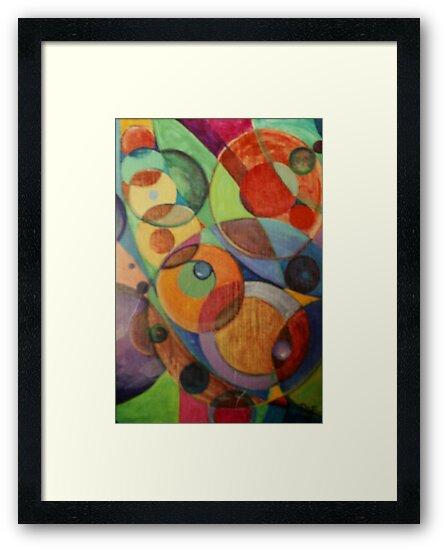 Molecular #2 (Acrylics)- by Robert Dye
