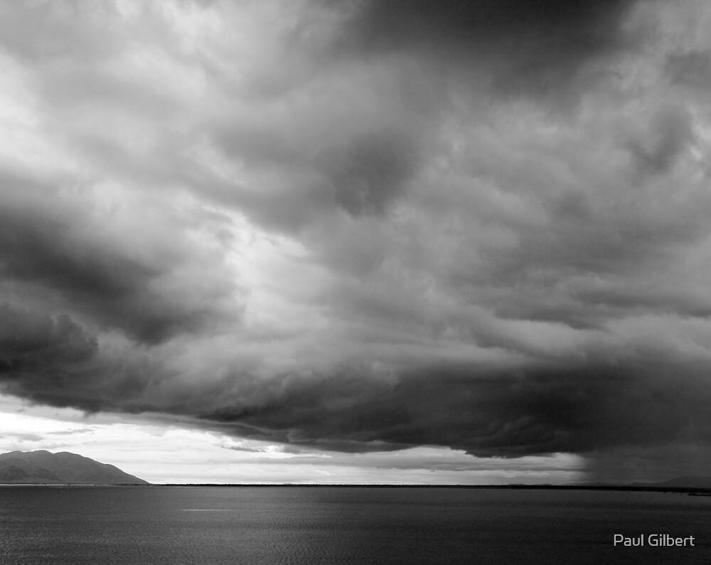 Ross Dam Storm by Paul Gilbert