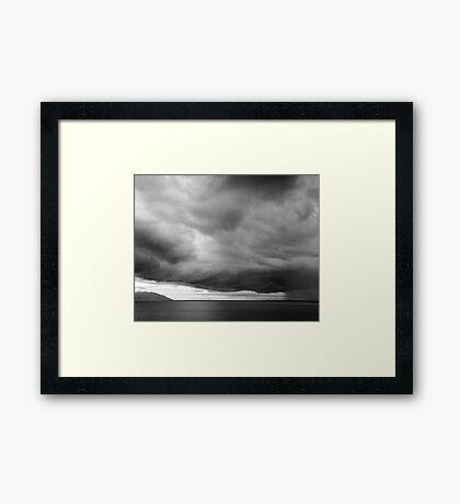 Ross Dam Storm Framed Print