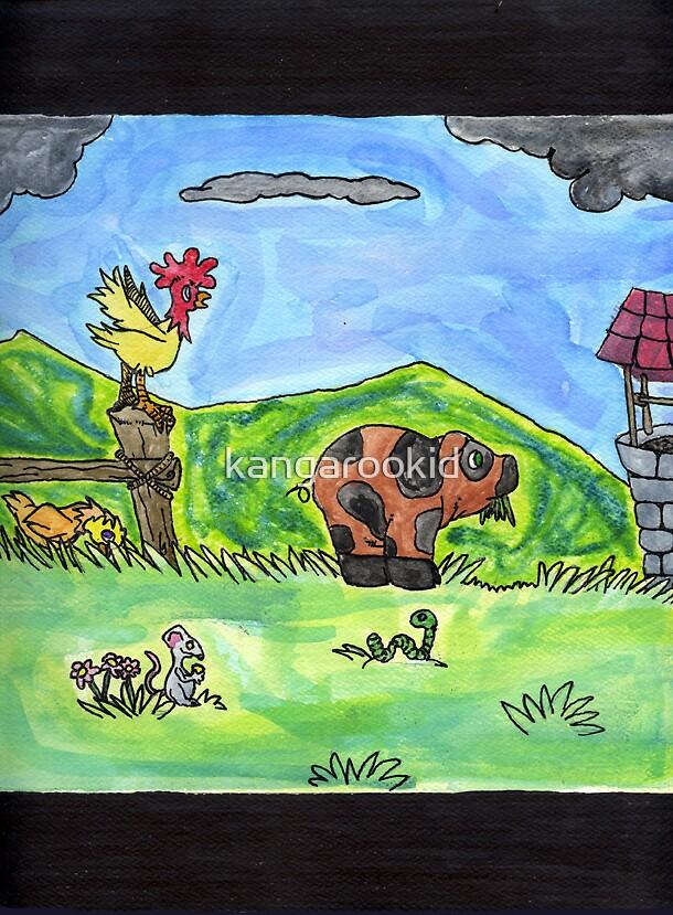 farm yard by kangarookid