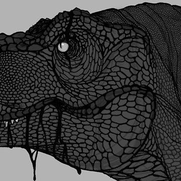 T-Rex by Kanamey