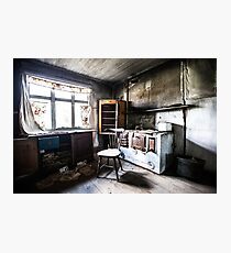 Abandoned Home in Finland Photographic Print