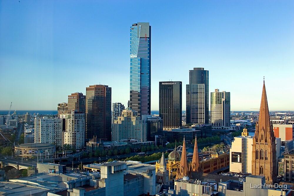 Melbourne Skyline by Lachlan Doig