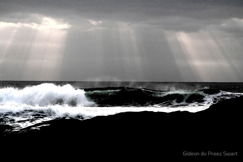 the dark sea. by Gideon du Preez Swart