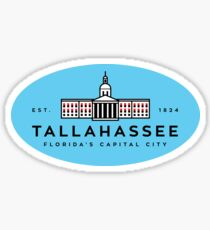 Tallahassee - Florida's Capital City Sticker