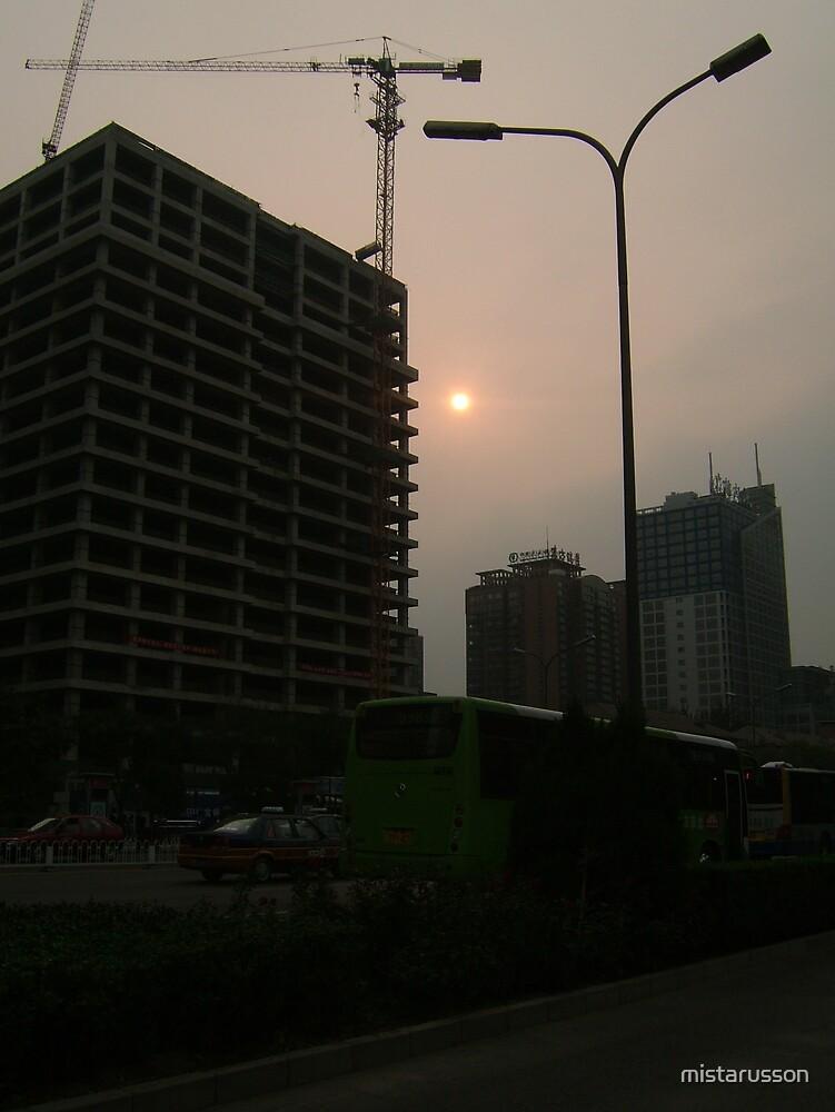 Skyscape 1 - Beijing by mistarusson