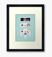 Game controller Framed Print