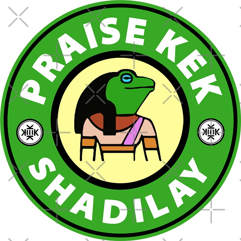 Quot Praise Kek Shadilay Quot Stickers By Timstriker Redbubble
