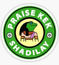 Praise KEK - Shadilay! Sticker