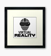 Virtual Reality (VR) Framed Print