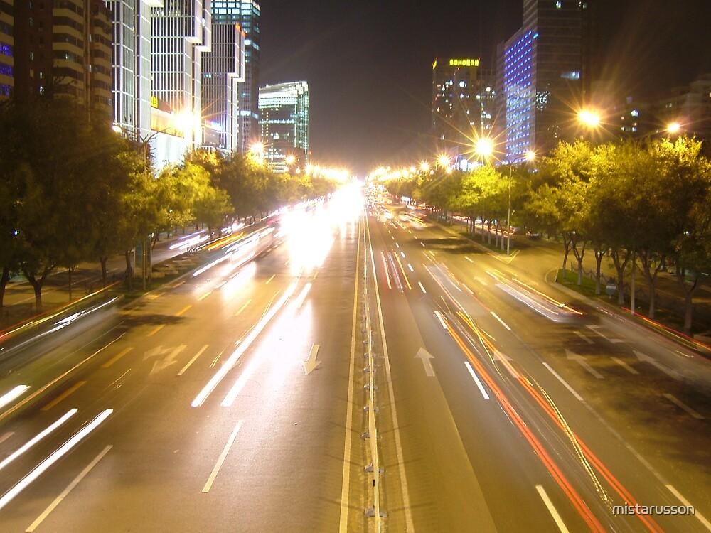 Overpass - Beijing by mistarusson
