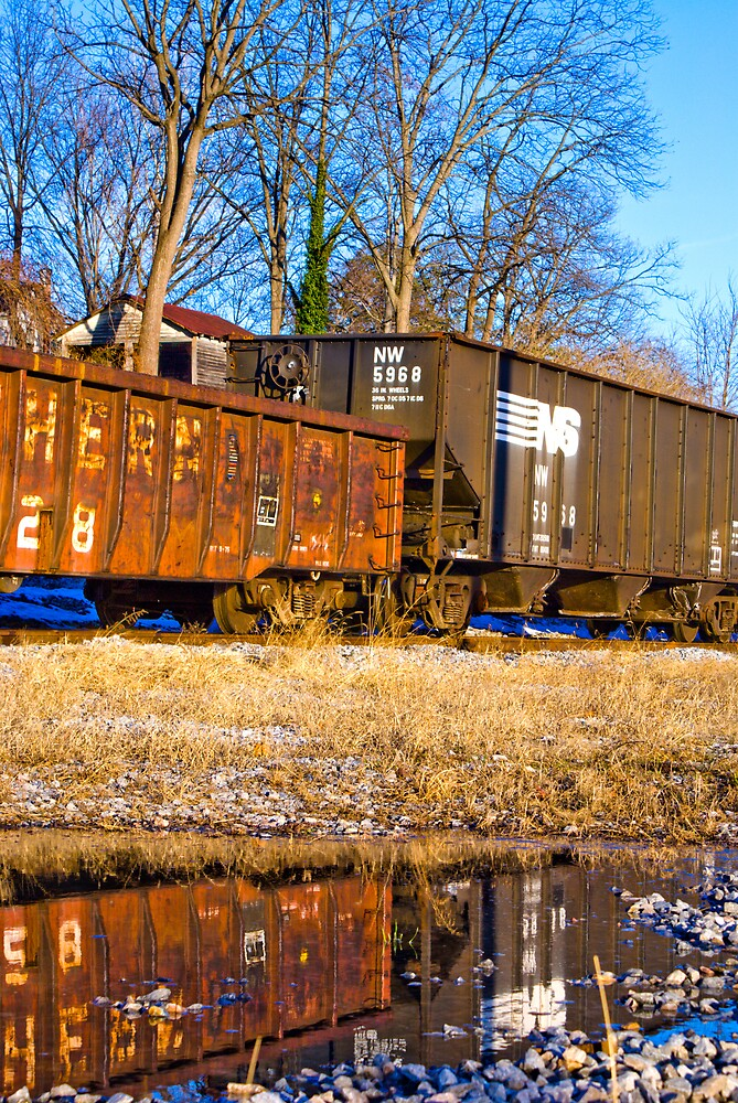 NS Reflection by Rod  Adams