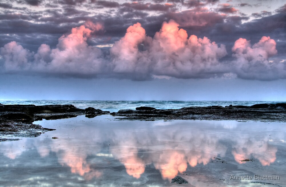 Dolphin Point Reflections by Annette Blattman