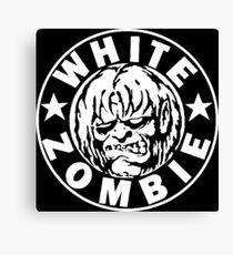 White Zombie (White) Canvas Print