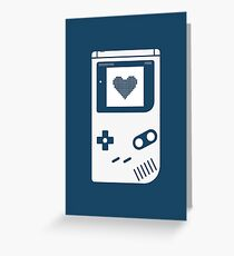 Portable console Greeting Card