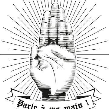 Talk to my hand ! by irideocrea