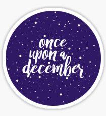 Once Upon a December | Anastasia Sticker