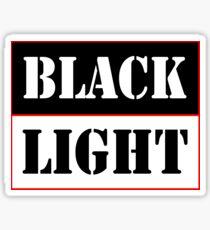 Black light red Sticker
