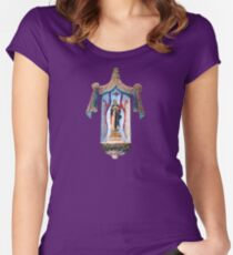 San Xavier's Mother Mary Women's Fitted Scoop T-Shirt