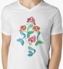 Merry Mermaids in Watercolor  T-Shirt