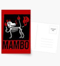 MAMBO FARTING DOG Postcards