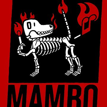 MAMBO FARTING DOG by RevolutionGFX