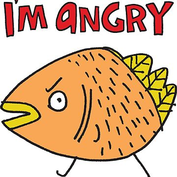 Angry by fishcakes