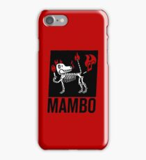 MAMBO FARTING DOG iPhone Case/Skin