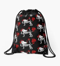 MAMBO FARTING DOG Drawstring Bag