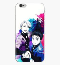 Victuuri Paar Skate iPhone-Hülle & Cover