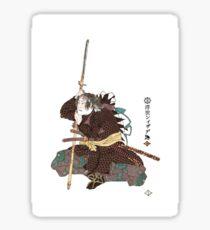 R-016b Kataoka Dengoemon Takafusa Sticker