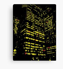 Urban Hatches NYC  Canvas Print