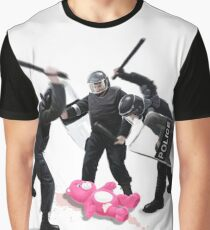 Riot Police Graphic T-Shirt