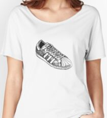 Shelltoe Sneaker Women's Relaxed Fit T-Shirt