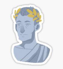 Caesar Bust Sticker