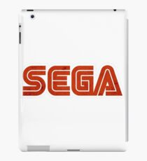 Sega logo rust iPad Case/Skin