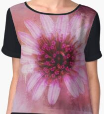 Daisy in Magenta Women's Chiffon Top