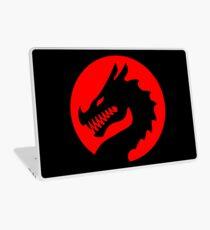 Red Luck Dragon Design, Luck Dragon Gifts Logo Design Laptop Skin