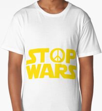 Stop Wars Long T-Shirt