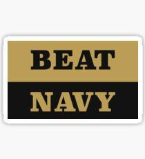 Beat Navy Sticker