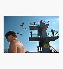 Geneva Lake Divers Photographic Print