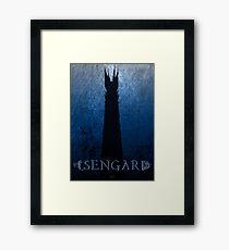 Isengard Poster Framed Print