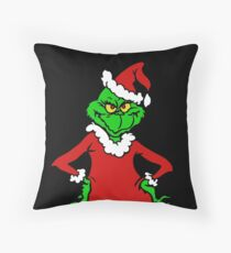 The Grinch  Throw Pillow