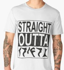 Straight Outta Qo´noS Men's Premium T-Shirt